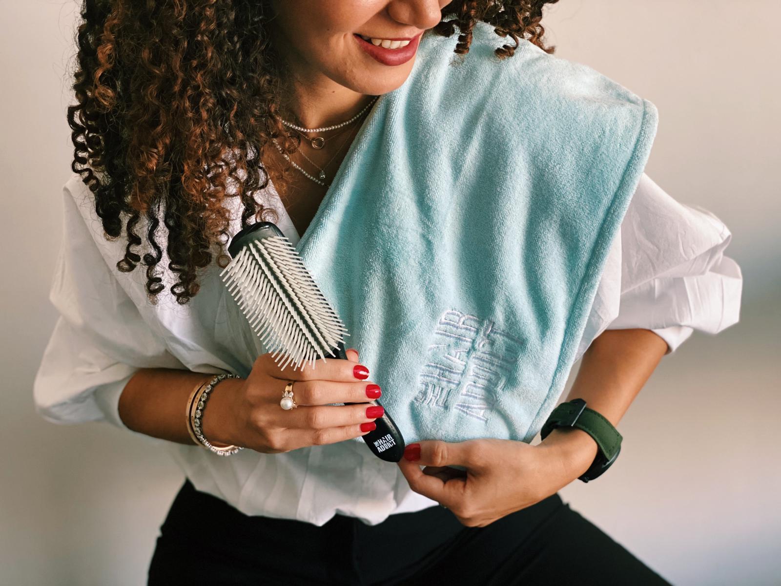 Frizz Off microfibre towel turban