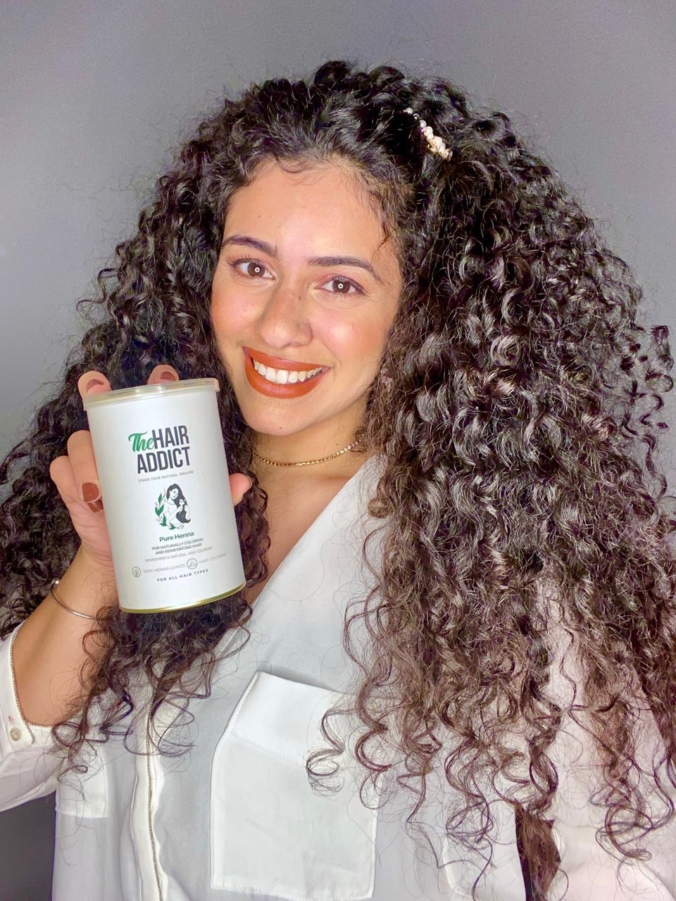 Henna for Natural Hair Coloring
